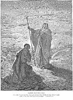 Samuel Blesses Saul, dore