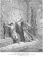 Saul Attempts to Kill David, dore