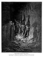The Seventh Circle--The Lustful, dore