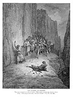 The Stoning of Stephen, dore