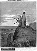 The Temptation Of Jesus, dore