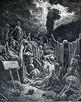 The Vision of the Valley of Dry Bones, 1866, dore