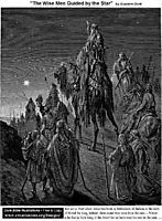 The Wise Men Guided By The Star, dore