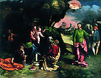 Adoration of the Magi, 1520, dossi