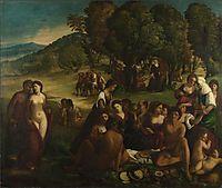 A Bacchanal, 1515, dossi