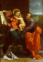 The Holy Family, dossi