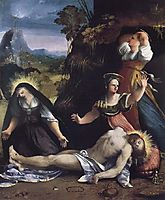 Lamentation over the Body of Christ, 1517, dossi