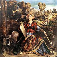 Melissa (Circe), 1507, dossi