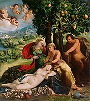 Mythological Scene, 1524, dossi