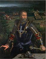 Portrait of Alfonso I d-Este, 1530, dossi