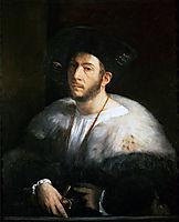 Portrait of a Man (probably Cesare Borgia), 1520, dossi
