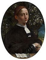 Portrait of a Youth, probably Lucrezia Borgia, 1516, dossi