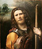 Saint George, 1513, dossi
