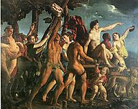 Triumph of Bacchus, 1514, dossi