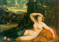 Venus Awakened by Cupid, dossi