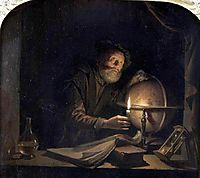 Astronomer, 1655, dou