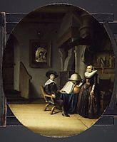 Burgomaster Hasselaar and His Wife, dou