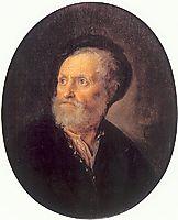 Bust of a Man, 1645, dou