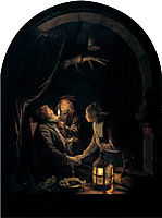 Dentist by Candlelight, c.1665, dou