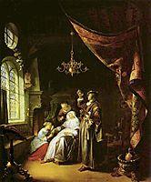 The Dropsical Woman , c.1663, dou