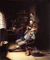 The Extraction of Tooth, 1635, dou