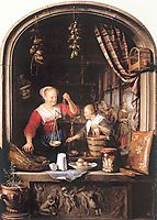 The Grocery Shop, 1672, dou