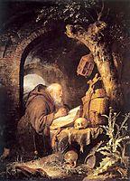 The Hermit, 1670, dou