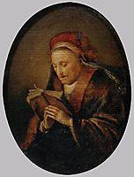 Old Woman Praying, c.1640, dou
