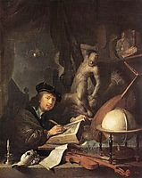 The Painter in his Workshop, 1647, dou