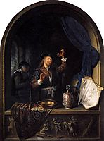 The Physician, 1653, dou