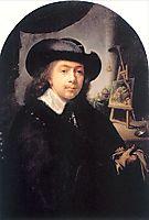 Portrait Of The Artist In His Studio, dou