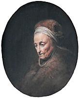 Rembrandt-s-mother, c.1630, dou