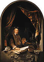 Self-Portrait, c.1665, dou