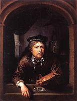 Self-portrait in a Window, c.1657, dou