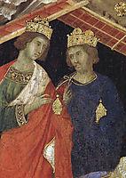 Adoration of the Magi (Fragment) , 1311, duccio