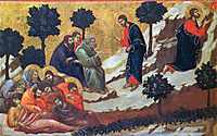 Agony in the Garden, 1311, duccio