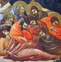 Agony in the Garden (Fragment), 1311, duccio