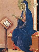 Annunciation (Fragment), 1311, duccio