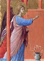 The Annunciation (Fragment), 1311, duccio