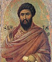 The Apostle Bartholomew, 1311, duccio