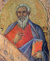 The Apostle Matthew, 1311, duccio