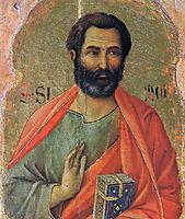 Apostle Simon, 1311, duccio