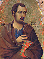 The apostle Thaddeus, 1311, duccio