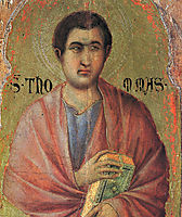 The Apostle Thomas, 1311, duccio