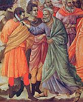 Arrestof Christ, 1311, duccio