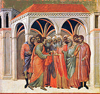 The Betrayal of Judas, 1311, duccio