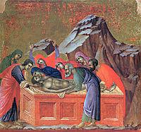 Burial, 1311, duccio