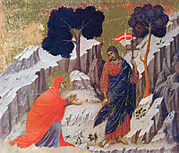 Christ Appearing to Mary, 1311, duccio