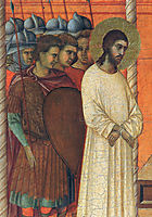 Christ before Pilate (Fragment) , 1311, duccio