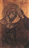 Coronation of the Virgin, 1311, duccio